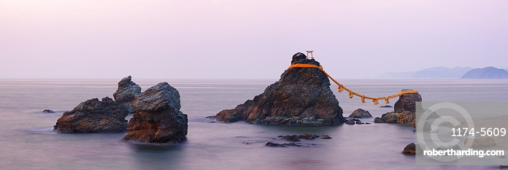Wedded Rocks of Futami, Ise-Shima, Honshu, Japan