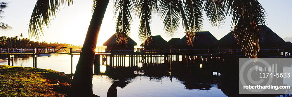 Over the Water Rooms at Resort, Moorea, Tahiti, French Polynesia