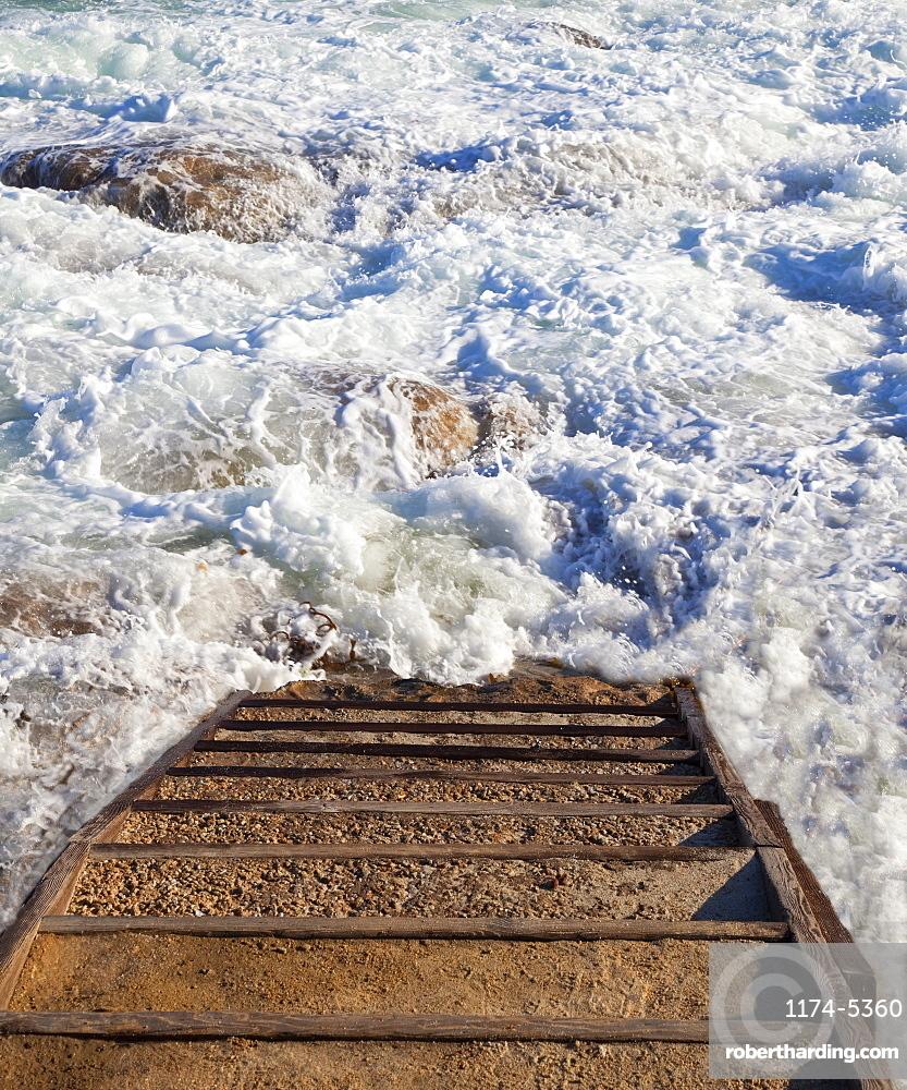 Stairway to Ocean Surf, California, United States of America