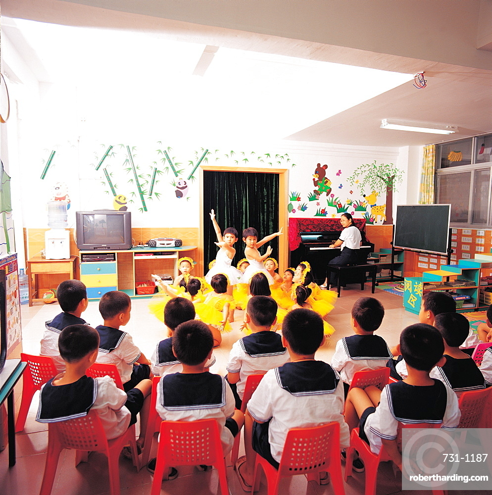 A kindergarten, Shenzhen