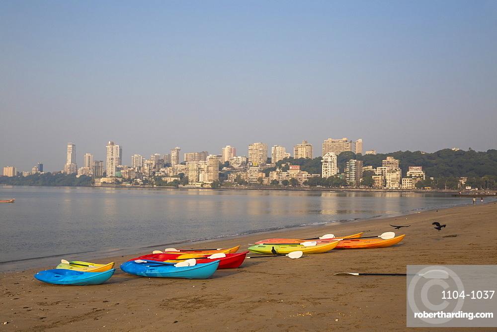 Chowpatty, Mumbai, Maharashtra, India, Asia