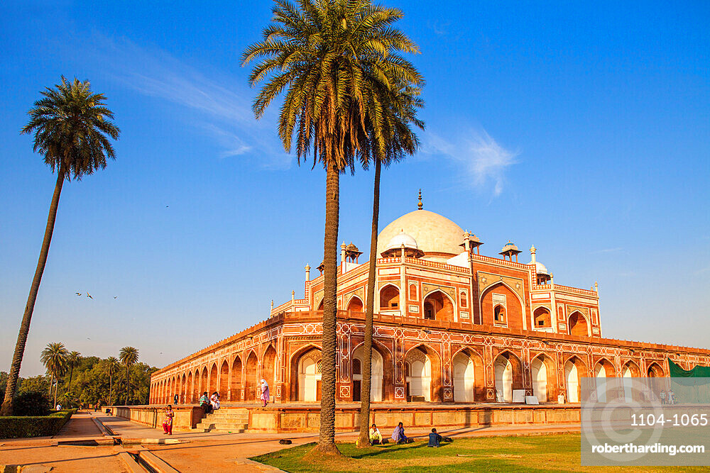 Humayun's Tomb, UNESCO World Heritage Site, New Delhi, Delhi, India, Asia