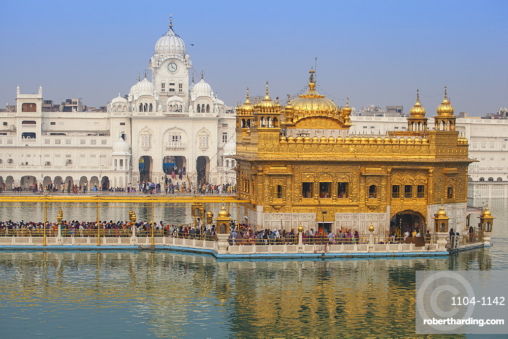 history of harmandir sahib in punjabi