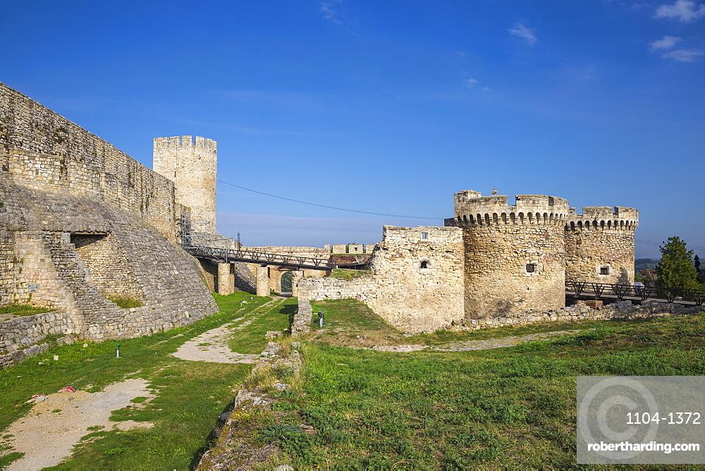 Zinden gate and towers, Belgrade Fortress, Kalemegdan Park, Belgrade, Serbia, Europe