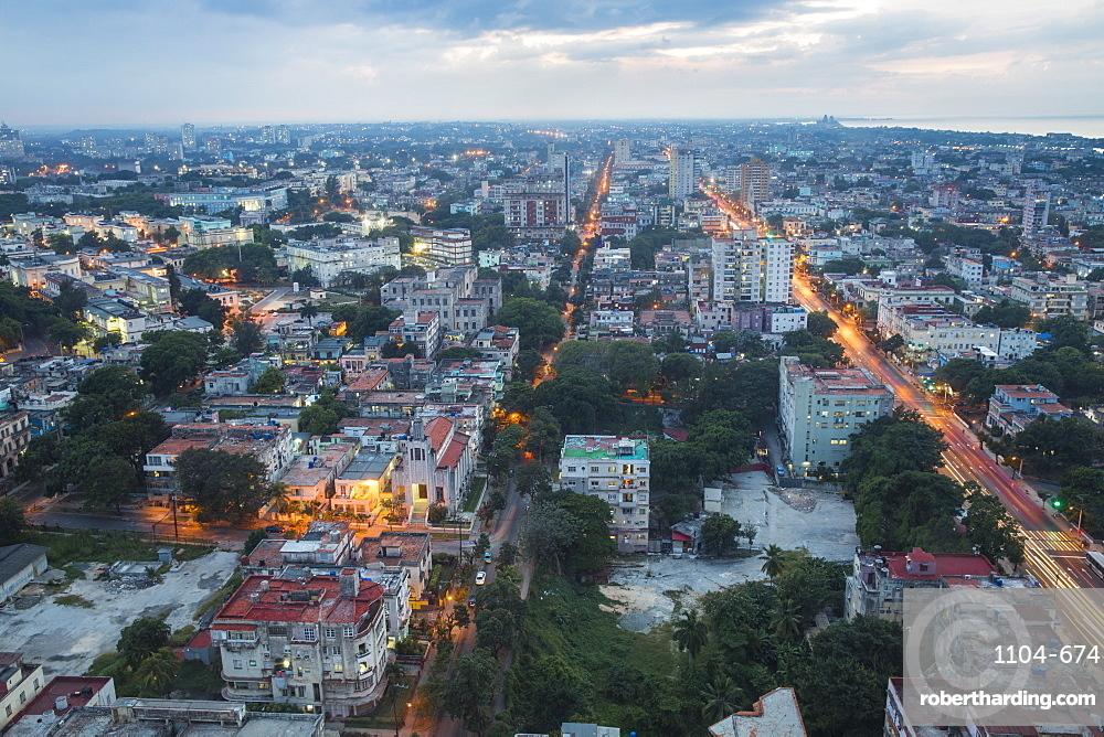 View of Havana, Cuba, West Indies, Caribbean, Central America