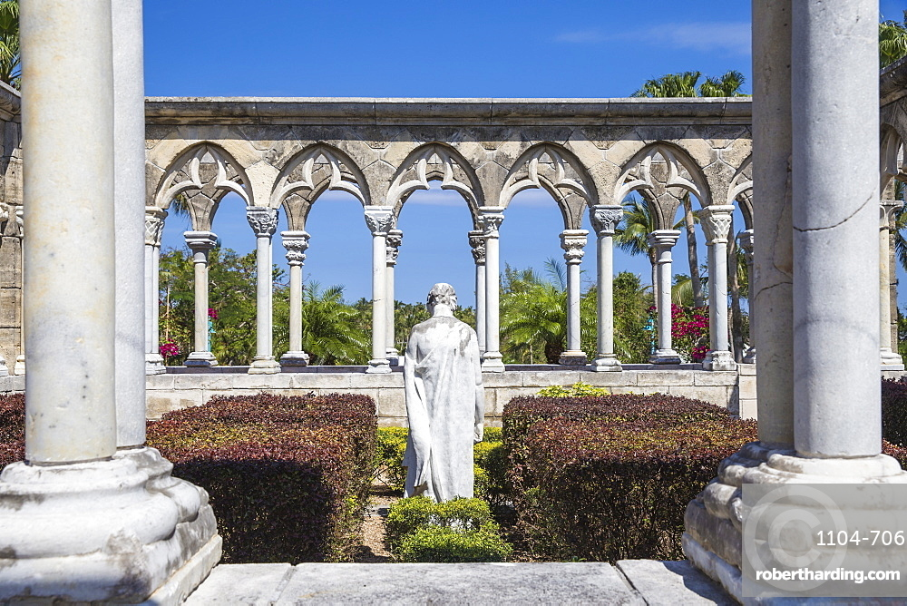 Versailles Gardens and Cloisters, Paradise Island, Nassau, Bahamas, West Indies, Caribbean, Central America