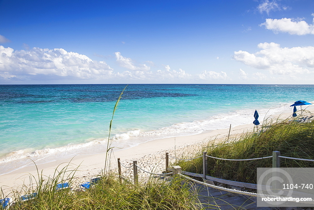 Hope Town Beach, Hope Town, Elbow Cay, Abaco Islands, Bahamas, West Indies, Central America