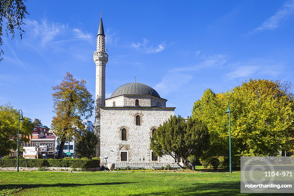 Ali Pasha Mosque, Sarajevo, Bosnia and Herzegovina, Europe