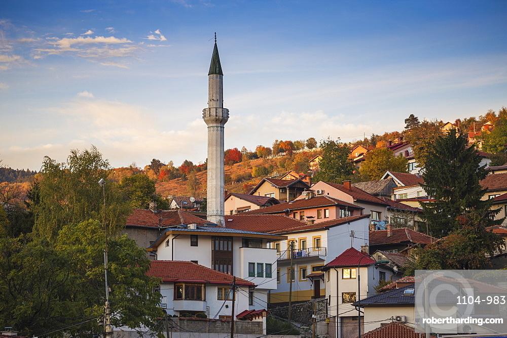 City view, Sarajevo, Bosnia and Herzegovina, Europe