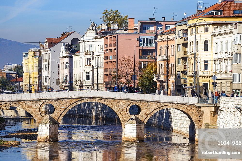 Latin Bridge, Sarajevo, Bosnia and Herzegovina, Europe