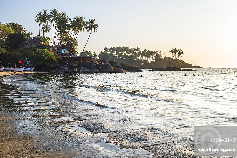 Palolem Beach, Goa, India, Asia