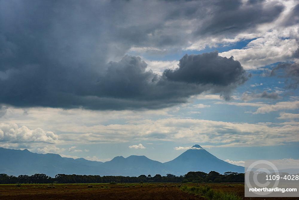 Arenal Volcano, seen from close to La Fortuna, Alajuela Province, Costa Rica
