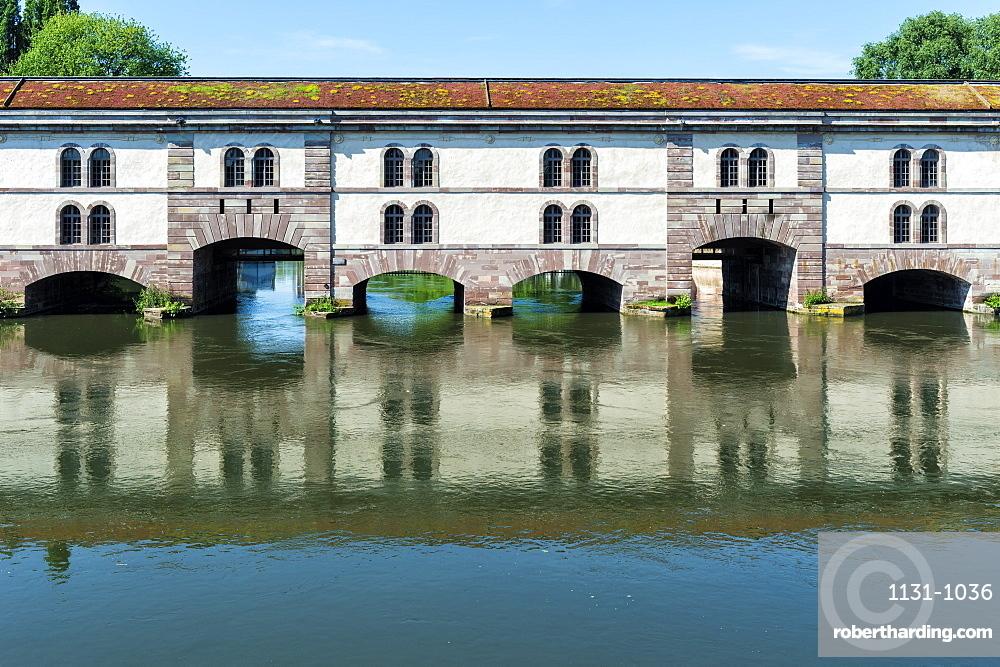 Barrage Vauban, Strasbourg, Alsace, Bas-Rhin Department, France, Europe