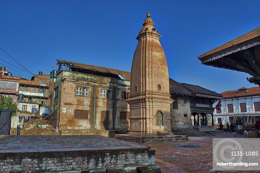 Taumadhi Tole square, Unesco World Heritage Site, Bhaktapur, Nepal
