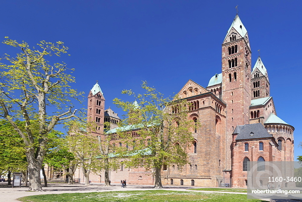 Kaiserdom Cathedral, UNESCO World Heritage Site, Speyer, Rhineland-Palatinate, Germany, Europe