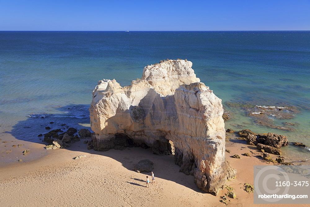 Praia da Rocha beach, Atlantic Ocean, Portimao, Algarve, Portugal, Europe