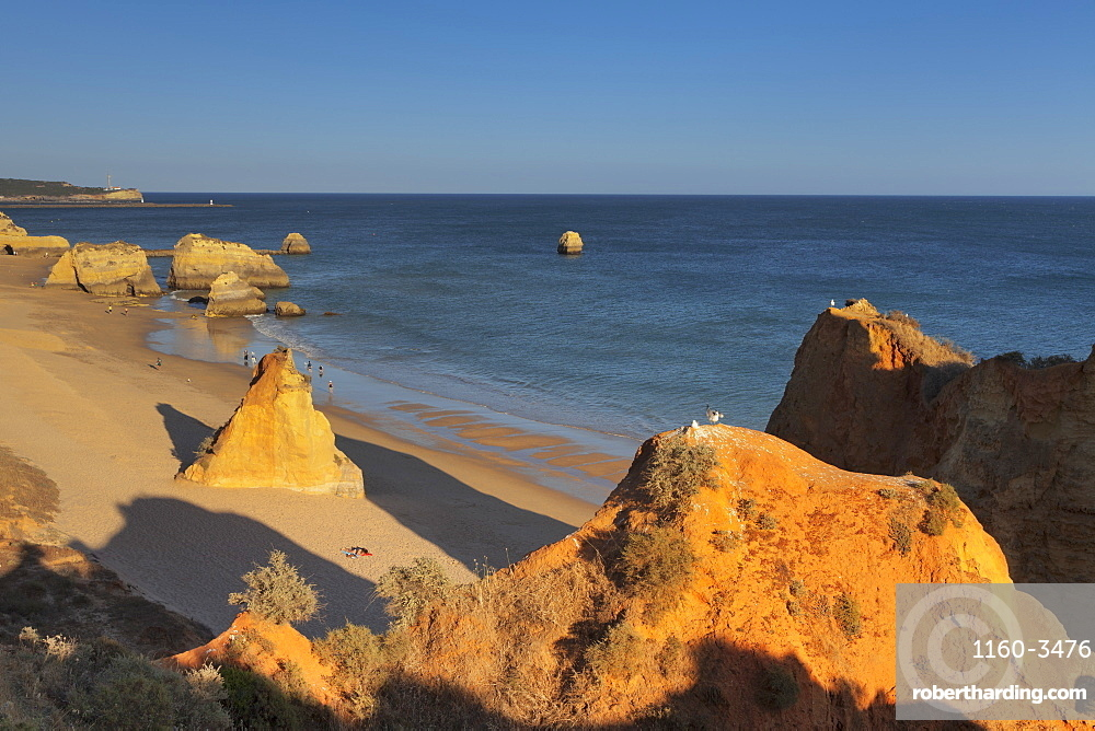 Praia da Rocha beach, Atlantic Ocean, Portimao, Algarve, Portugal, Europe