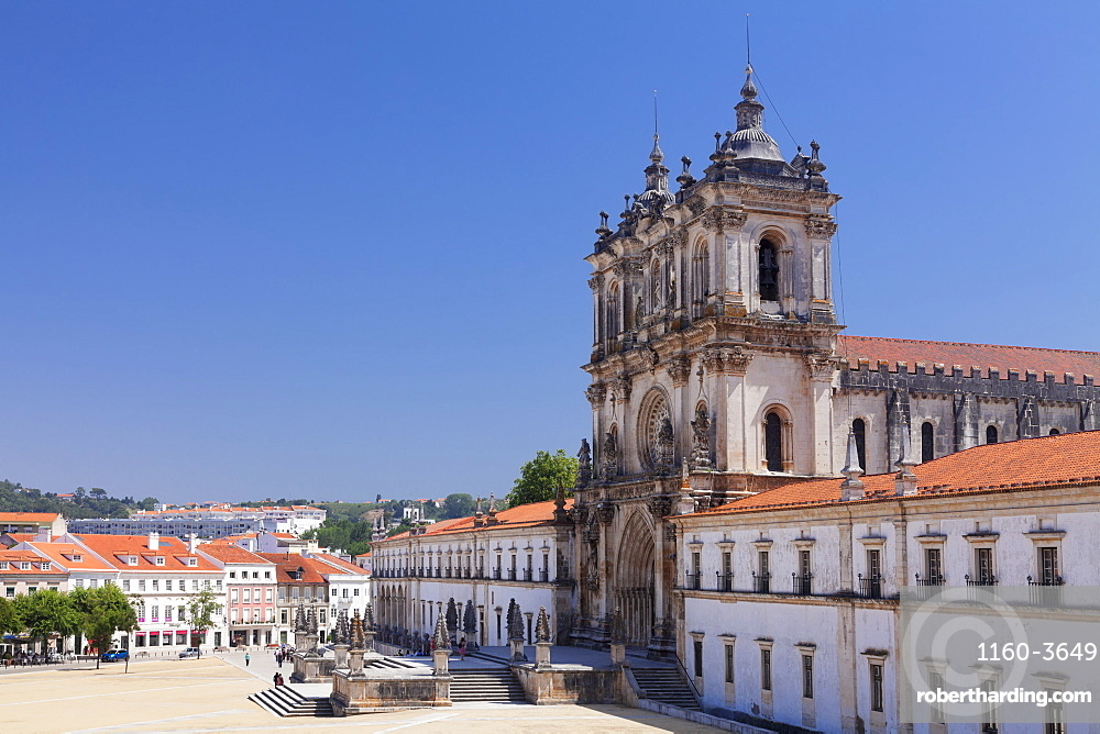 Mosteiro Santa Maria de Alcobaca Monastery, UNESCO World Heritage Site, Alcobaca, Estremadura, Leira, Portugal