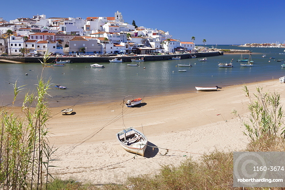 Ferragudo fishing village, near Portimao, Algarve, Portugal