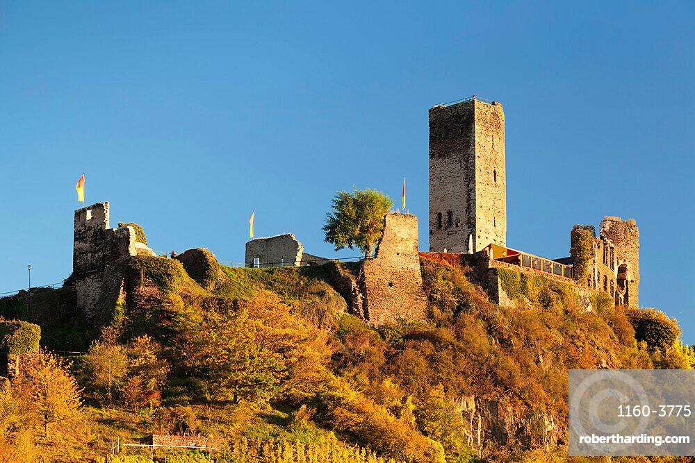 Metternich Castle Ruins, Beilstein, Rhineland-Palatinate, Germany, Europe