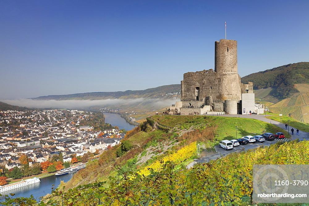 Ruins of Landshut Castle, Moselle Valley, Bernkastel-Kues, Rhineland-Palatinate, Germany, Europe