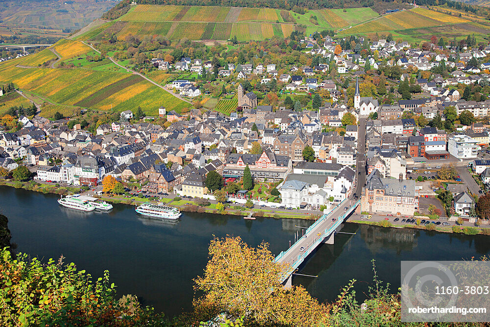 Traben-Trarbach, Moselle Valley, Rhineland-Palatinate, Germany, Europe
