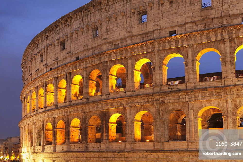 Colosseum, Colosseo, UNESCO UNESCO World Heritage Site, Rome, Lazio, Italy