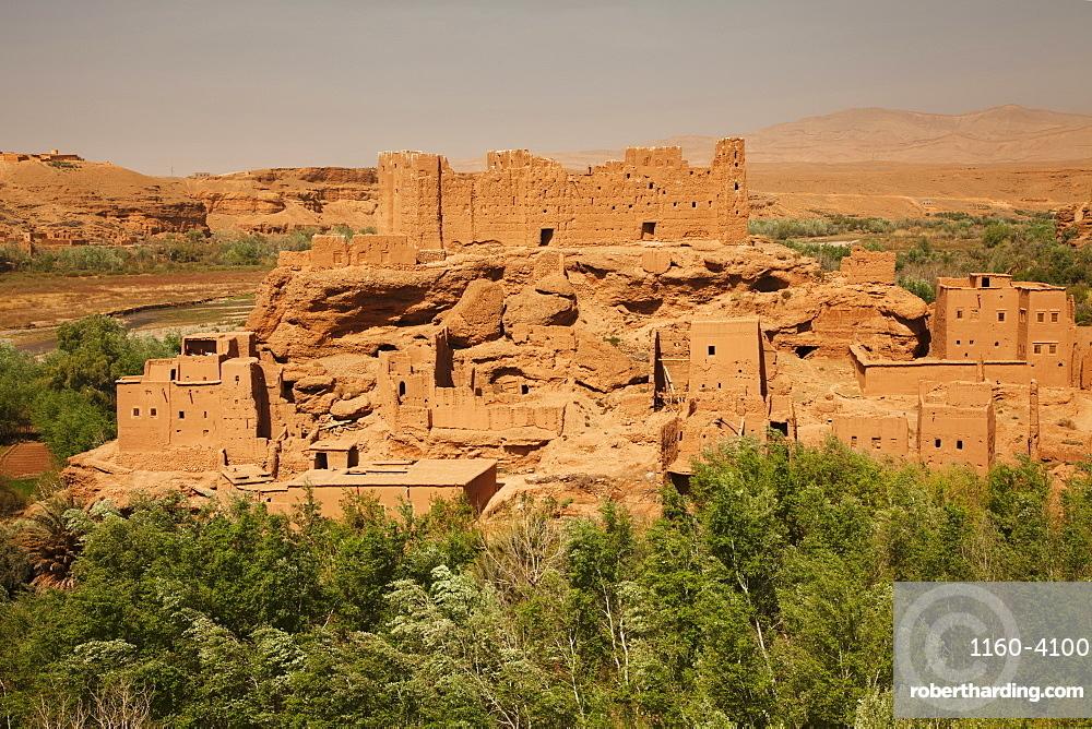 Kasbah, El Kelaa M'Gouna, Road of Kasbahs, Atlas Mountains, Southern Morocco, Morocco, North Africa, Africa