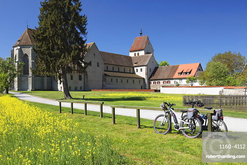 St. Maria and Markus Cathedral, Mittelzell, UNESCO World Heritage Site, Reichenau Island, Lake Constance, Baden-Wurttemberg, Germany, Europe
