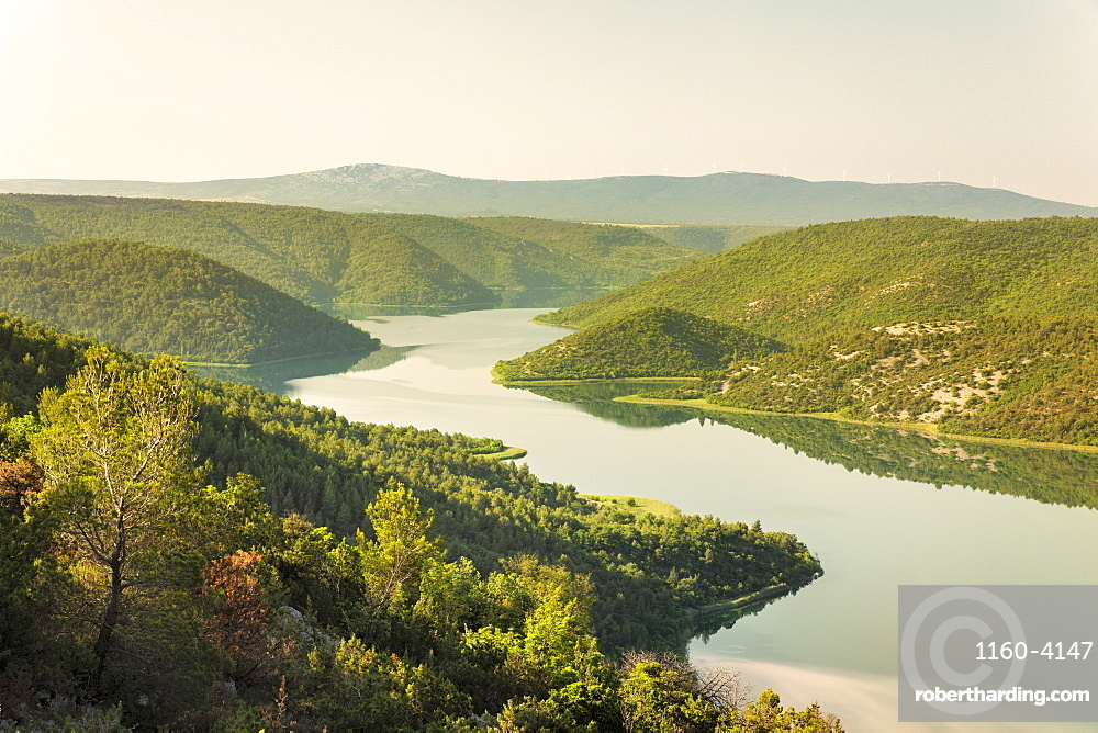 Krka River, Krka National Park, Dalmatia, Croatia, Europe