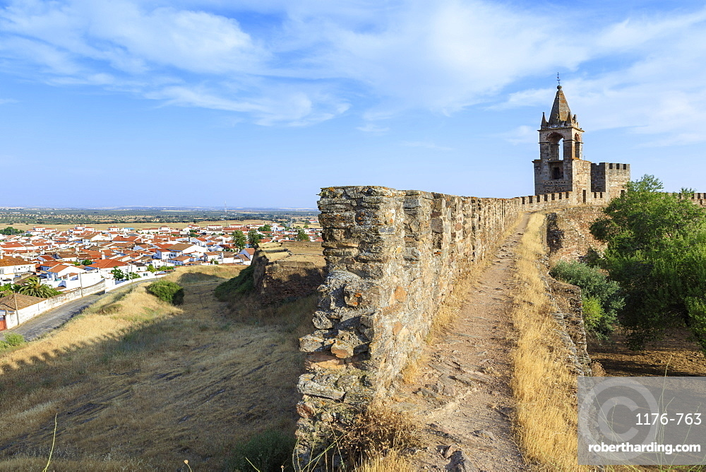 Mourao castle, Alentejo, Portugal, Europe
