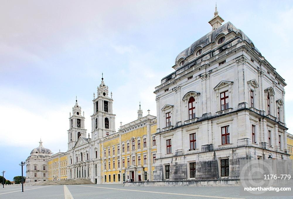 Mafra Palace, Mafra, Centro, Portugal, Europe