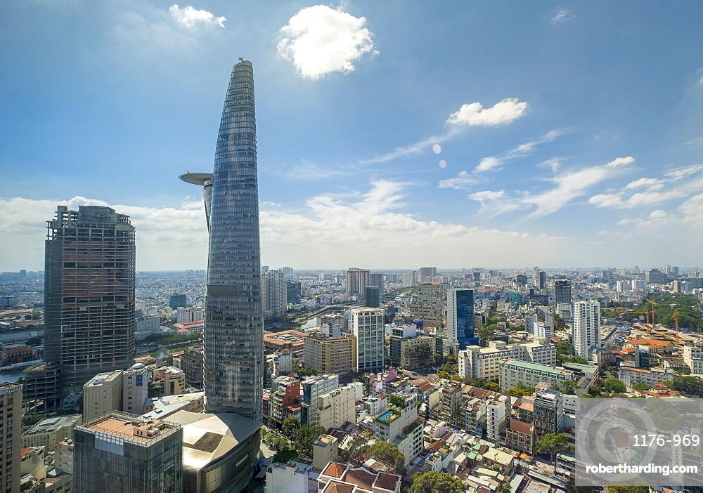 View of the city skyline, Ho Chi Minh City, Vietnam, Indochina,