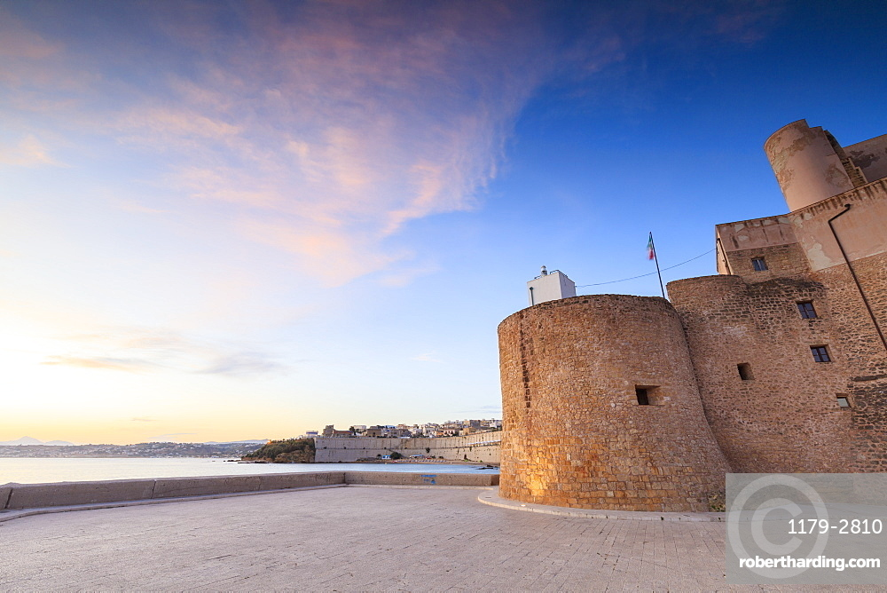Norman Arab Castle, Castellammare del Golfo, province of Trapani, Sicily, Italy, Mediterranean, Europe