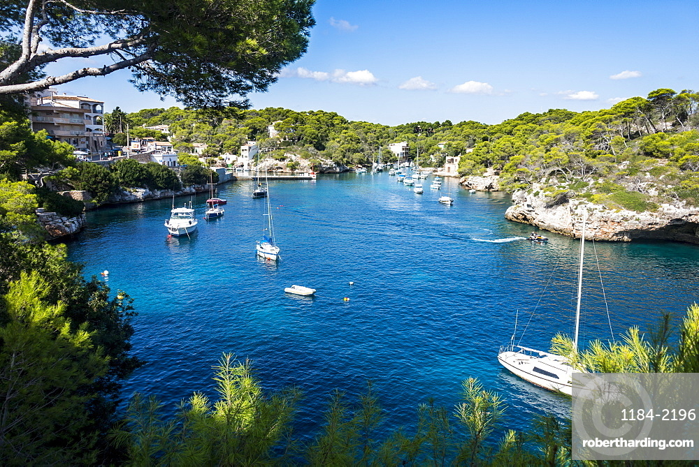 Beautiful bay of Cala Llombards, Santanyi, Mallorca, Balearic Islands, Spain, Mediterranean, Europe