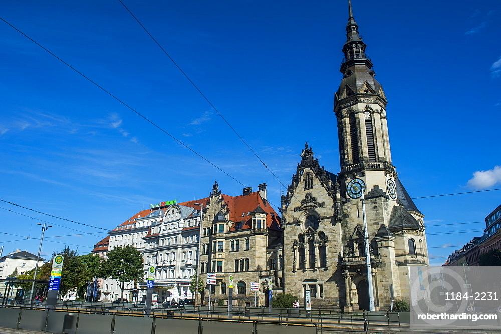 Reformierte Kirche (Reformed Church) of Leipzig, Saxony, Germany, Europe