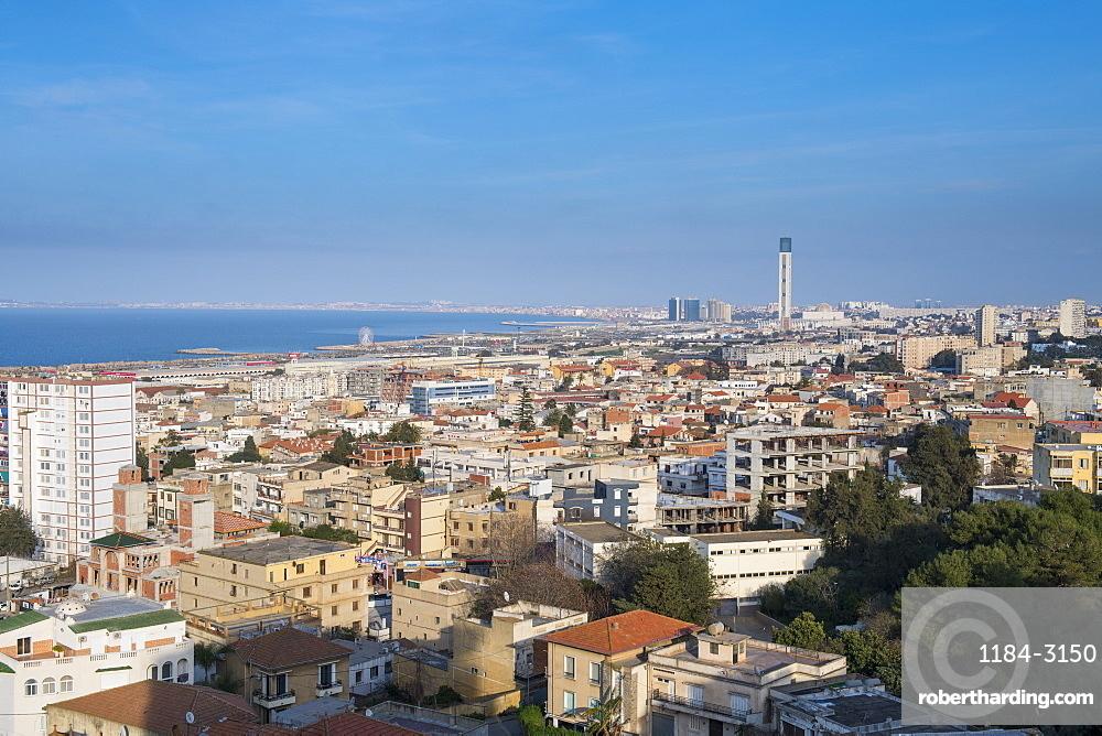 View over Algiers, Algeria, North Africa, Africa