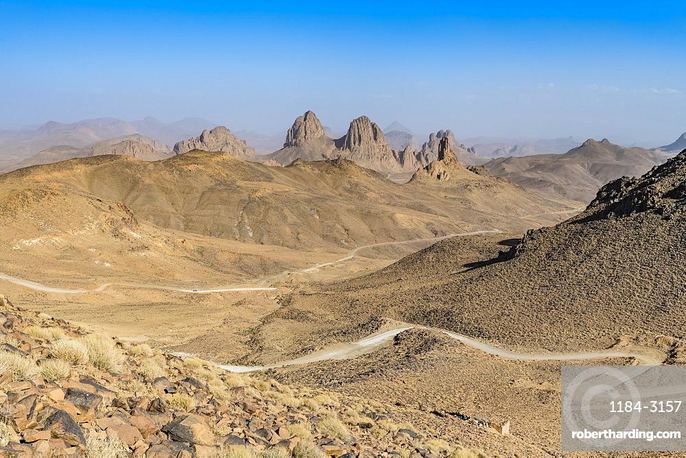 Mountains of Assekrem, Tamanrasset, Hoggar mountains, Algeria, North Africa, Africa