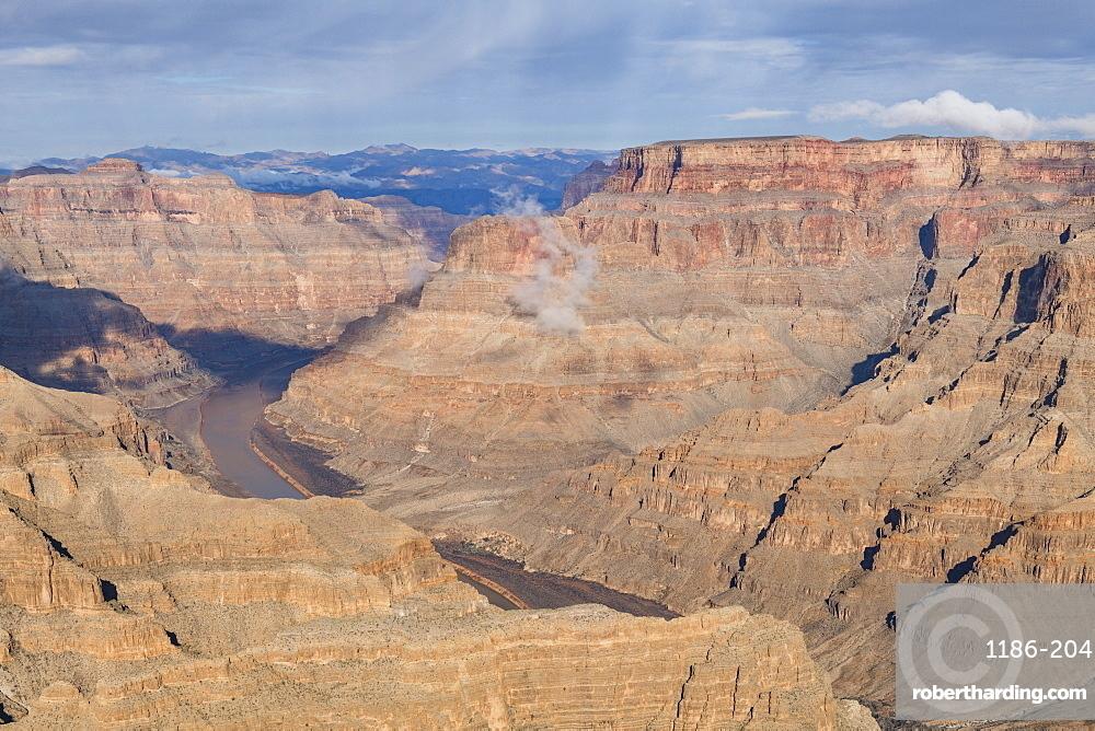 West Rim Grand Canyon and Colorado River UNESCO World Heritage Site, Arizona, United States of America, North America