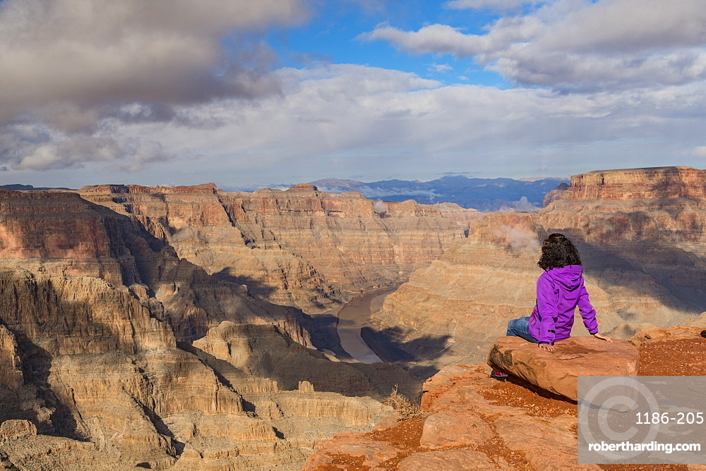 West Rim Grand Canyon and Colorado River UNESCO World Heritage Site, Arizona, United States of America, North America