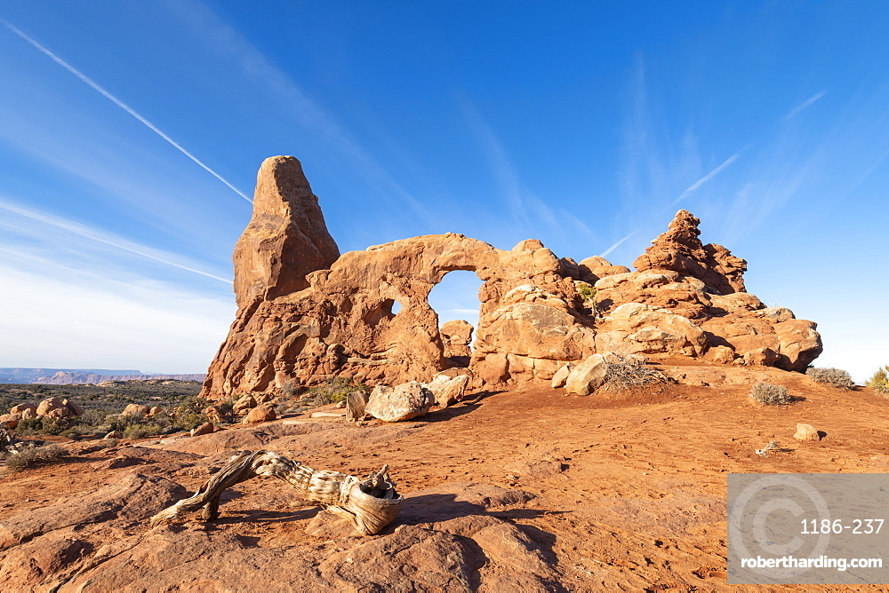 Windows Arches, Arches National Park, Moab, Utah, United States of America, North America