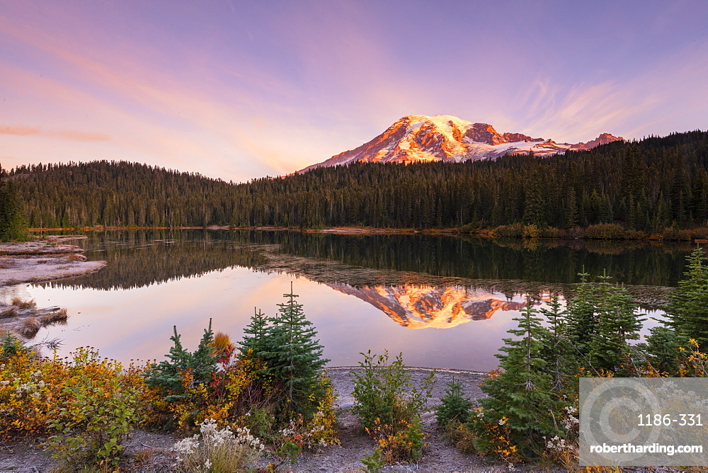 Reflection Lake, Mount Rainier NP, Washington, United States of America