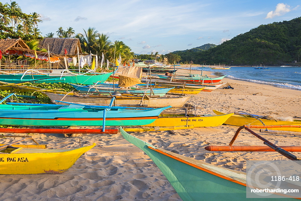Asia, South East Asia, Philippines, Mimaropa, Palawan, El Nido, Nacpan Beach
