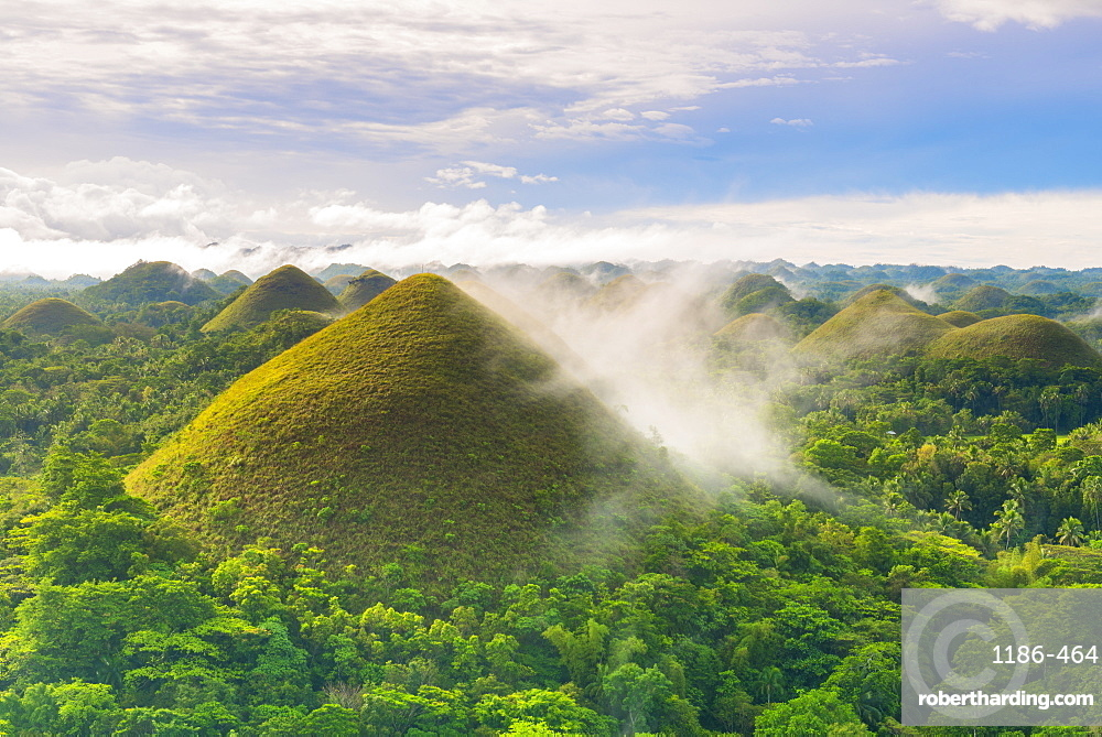 Asia, South East Asia, Philippines, Central Visayas, Bohol, Chocolate hills