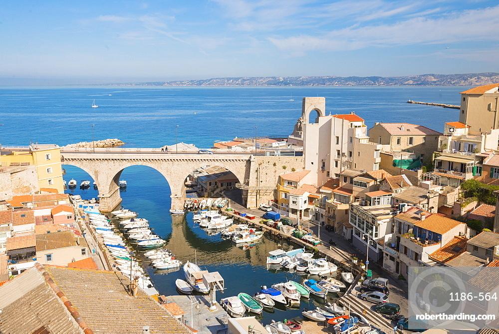 Port Du Vallon Des Auffes Marseille, Bouches du Rhone, France