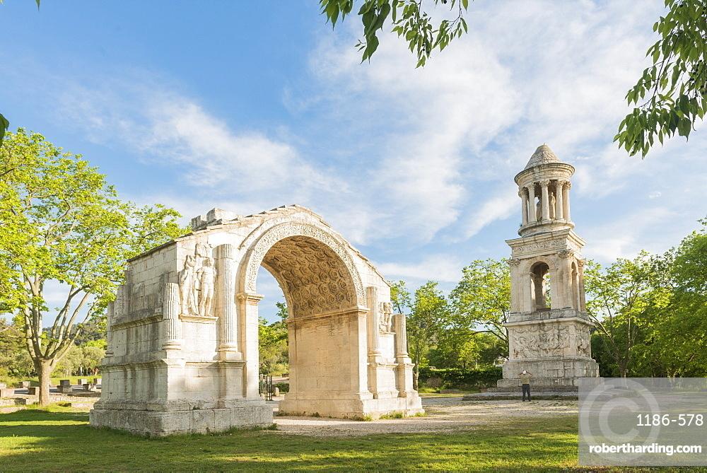 Les Baux-de-Provence Roman Ruins, Provence, France