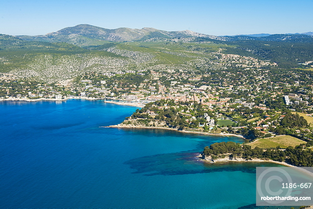 View over Cassis, Provence, France