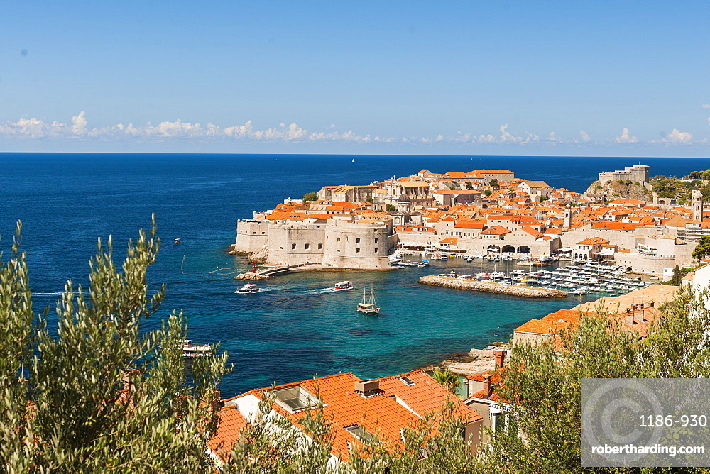 Old town, UNESCO World Heritage Site, Dubrovnik, Croatia, Europe