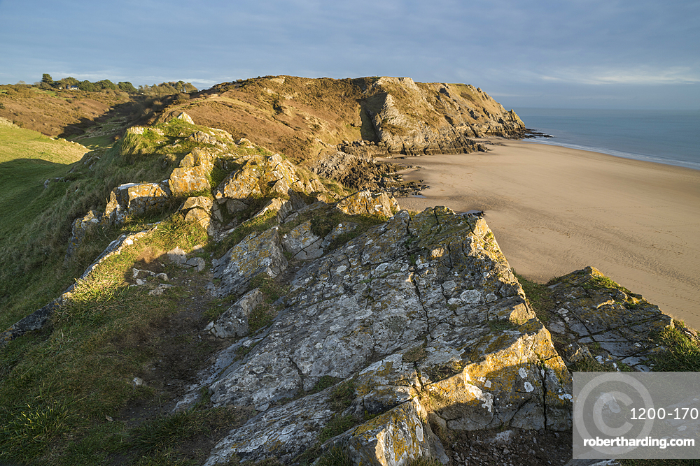 Pobbles Bay, Gower, South Wales.