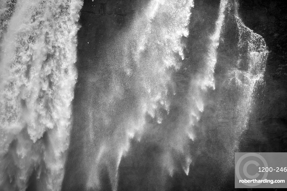 Fossa Waterfall, Streymoy Island, Faroe Islands.